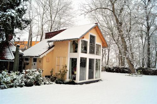Guesthouse Biederitz im Winter