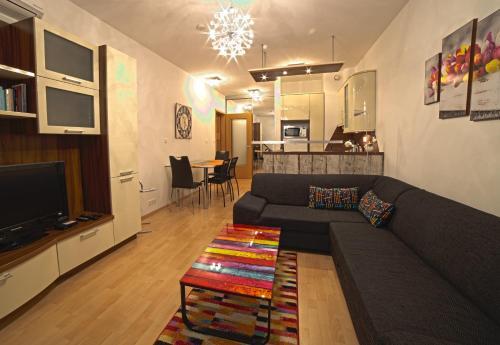 Posedenie v ubytovaní New Buda Apartment