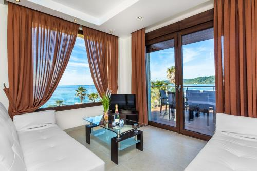 Zona de estar de Belohorizonte Fine Accommodation