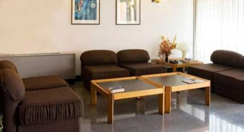 A seating area at Residence Viserba
