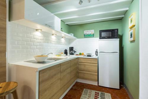 Köök või kööginurk majutusasutuses LE COLONNA - Old town