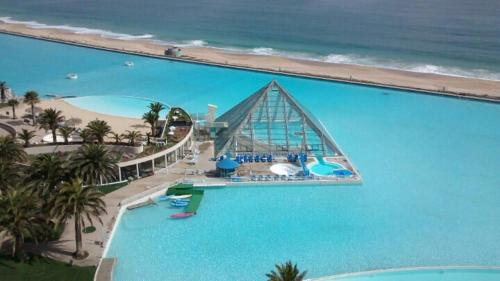 A view of the pool at San Alfonso Del Mar or nearby