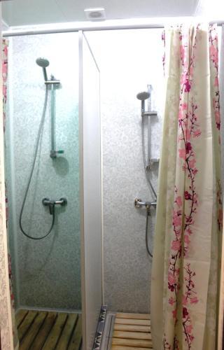 A bathroom at Hostel U Bashny