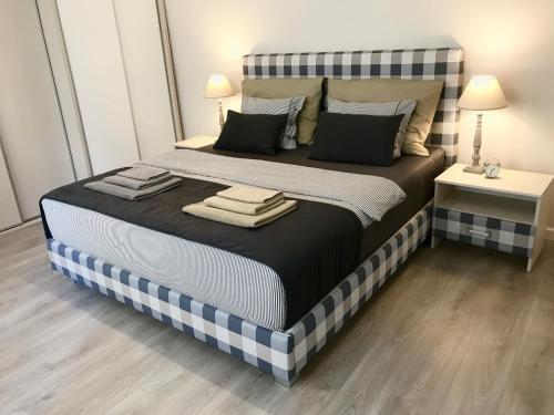 Posteľ alebo postele v izbe v ubytovaní Luxury Apartments Kosice Centre