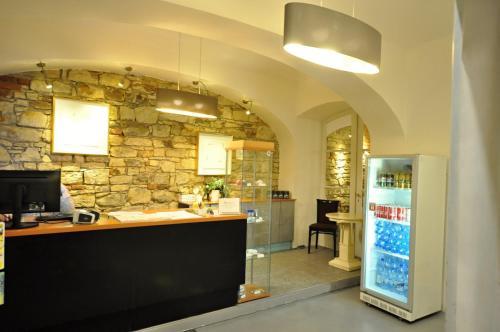 Lobby/Rezeption in der Unterkunft Central Spot Prague Apartments