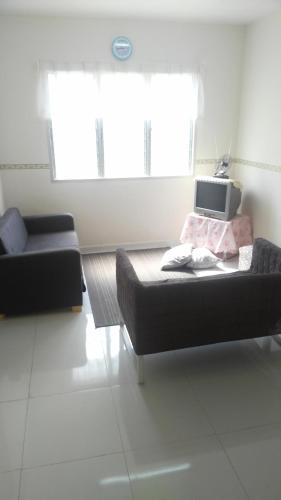 A seating area at Apartment seri Ceria 1, Bukit Jalil