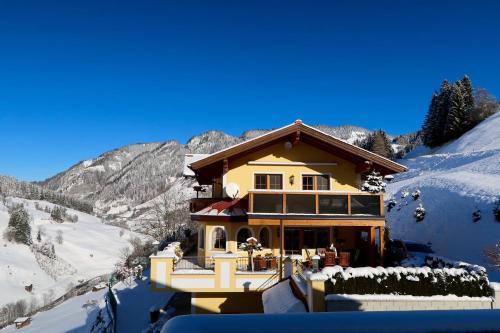 Appartementhaus Unterkofler im Winter