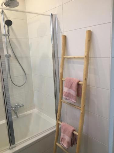 Een badkamer bij Villa Zandvoort