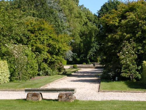 Jardin de l'établissement Malouinière de la Ville Bague