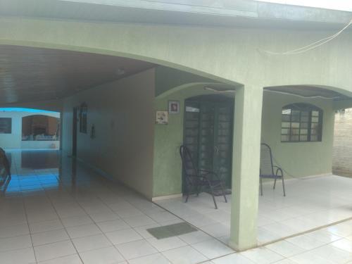 The facade or entrance of Casa de Bonito