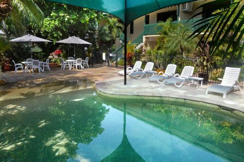The swimming pool at or near City Gardens Apartments