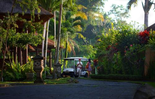 A garden outside FuramaXclusive Resort & Villas, Ubud