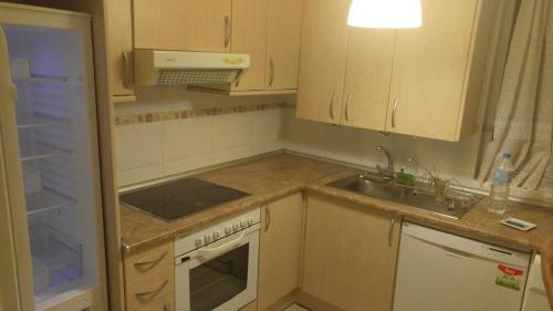 Una cocina o zona de cocina en LaFonda1-2-B