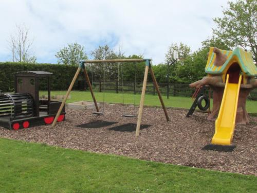 Children's play area at Cha Cha's Cottage