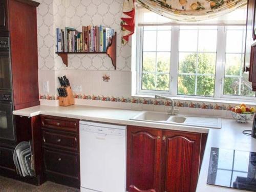 Nhà bếp/bếp nhỏ tại White Oak Grange