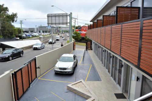 En balkong eller terrass på Seranin Lane Cove