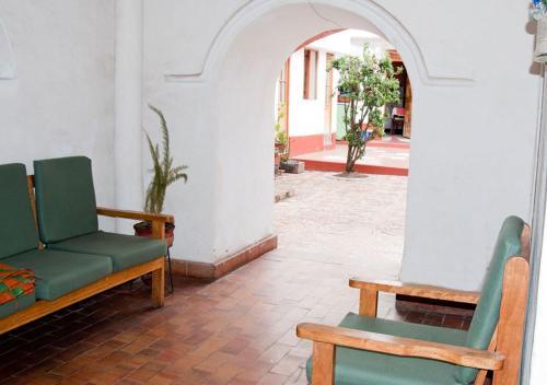 Zona de estar de Departamento Mercado San Pedro