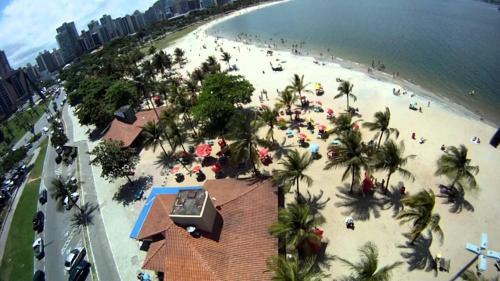 A bird's-eye view of Apartamento Enseada do Suá
