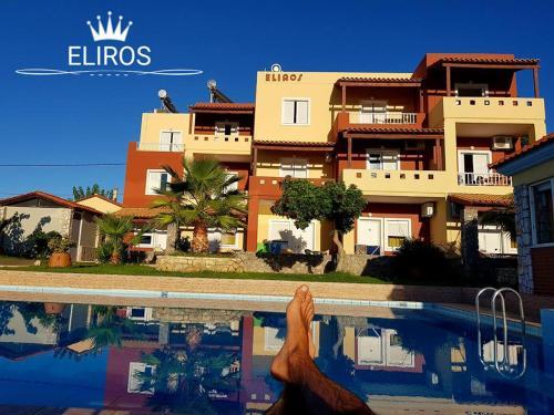 Πισίνα στο ή κοντά στο Eliros Studios