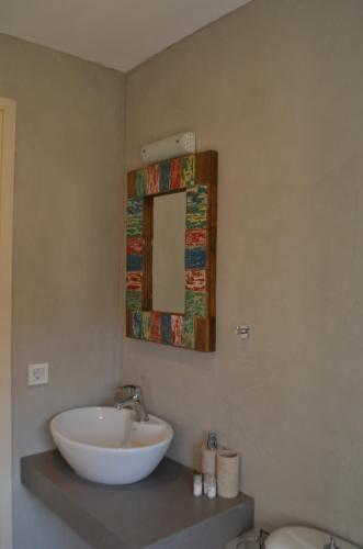 Łazienka w obiekcie Kalypso Apartments