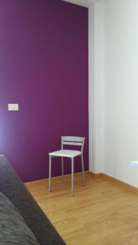 A seating area at Apartamento Gallego