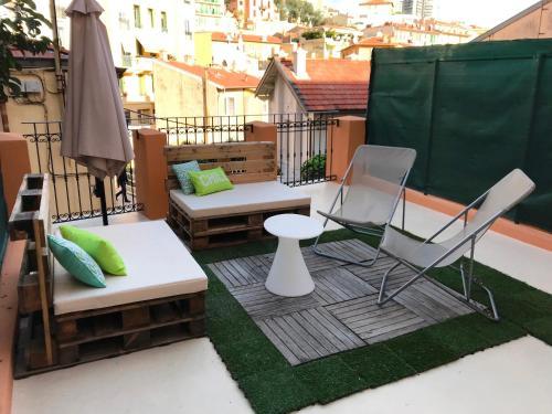 Tv Kast Riviera.2 Pieces Avec Terrasse Monte Karlas Atnaujintos 2020 M Kainos