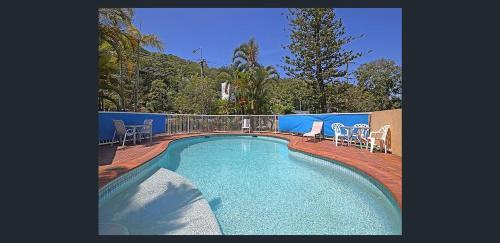 The swimming pool at or near Koala Cove Holiday Apartments