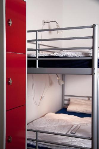 Litera o literas de una habitación en citystay Hostel Berlin Mitte