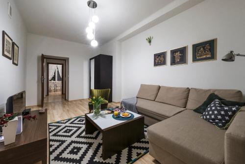 אזור ישיבה ב-H59 Apartment