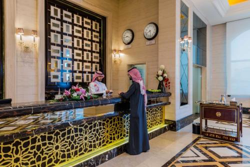 The lobby or reception area at Boudl Taif