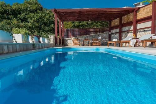 The swimming pool at or near Apartments Miljas 2