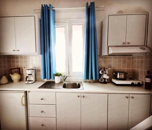 A kitchen or kitchenette at Irene's Residence
