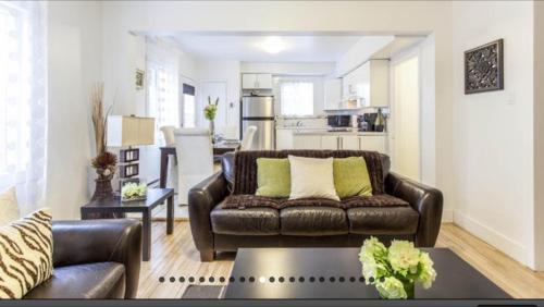 Istumisnurk majutusasutuses Apartment Condotel Montreal