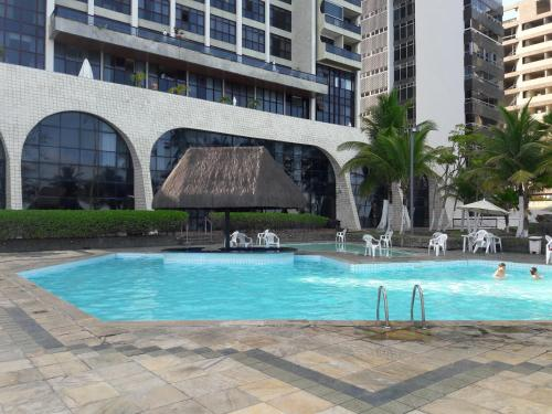 The swimming pool at or close to Flat Edf Golden Beach
