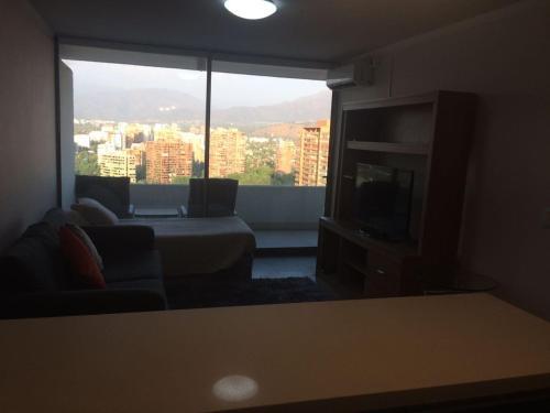 Zona de estar de Departamento Parque Arauco