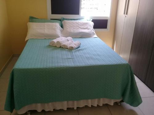 Cama o camas de una habitación en Atalaia Praia Apart