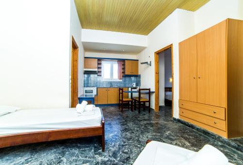 A seating area at Ambrosia Hotel