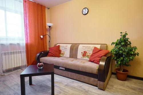 Гостиная зона в Apartment on Markovnikova 10A