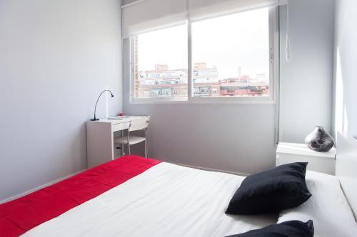 Katil atau katil-katil dalam bilik di Days in Barcelona Eixample