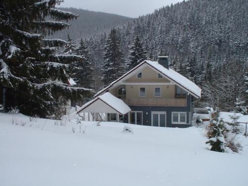 Ferienwohnung Hermannstein im Winter
