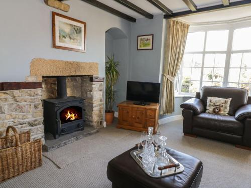 A seating area at Rose Cottage, Pickering