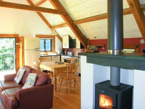 Kitchen o kitchenette sa The Granary, Abergavenny