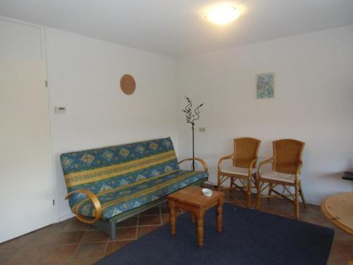 Coin salon dans l'établissement Scheibershof appartementenverhuur