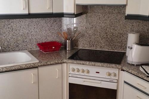 Küche/Küchenzeile in der Unterkunft Les Galeries Marval