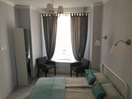 Coin salon dans l'établissement Apartment for Monaco