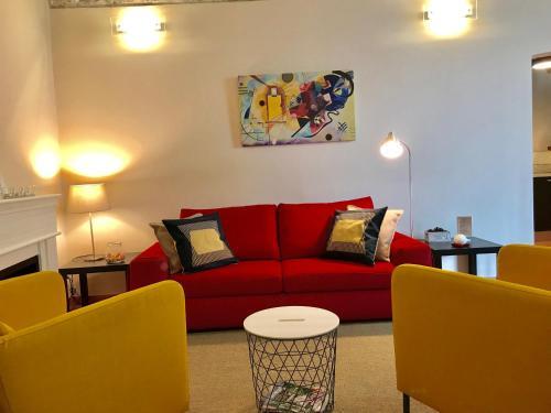 Ein Sitzbereich in der Unterkunft La Casa di Andrea