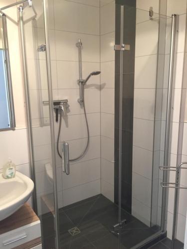 A bathroom at City-Apartment in Nurnberg