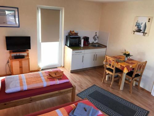 TV/Unterhaltungsangebot in der Unterkunft Abelia Apartment
