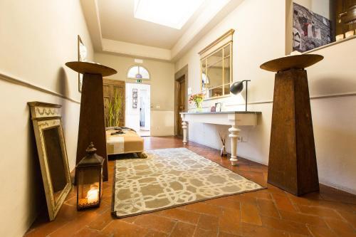 A cozinha ou kitchenette de Canto degli Scali
