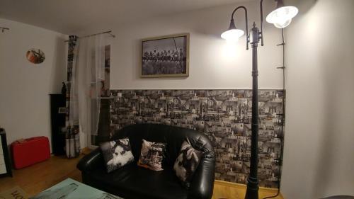 אזור ישיבה ב-Polhouse Apartamenty
